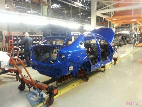 Lada Vesta будут красить под Subaru