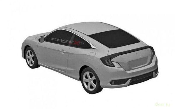Первые изображения новой Honda Civic