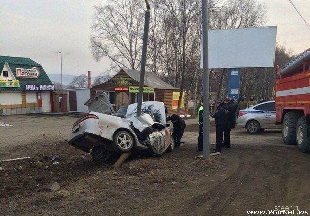 Дрифтера из Артема, убившего двоих пассажиров, не могут найти органы следствия