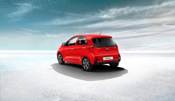 В России стартуют продажи обновленного Kia Picanto