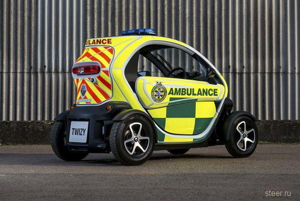 Cкорой помощи от Renault пробки не страшны