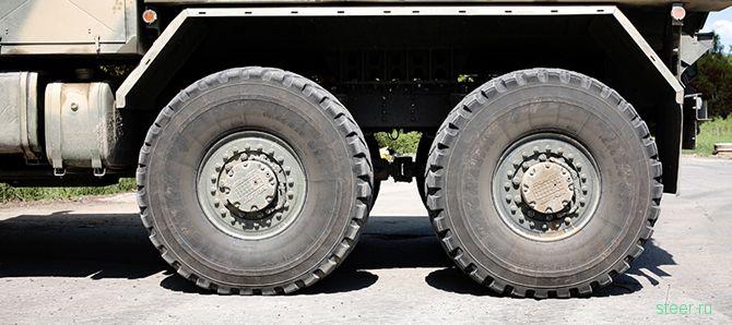 Новый бронированный грузовик Урал-63095 Тайфун