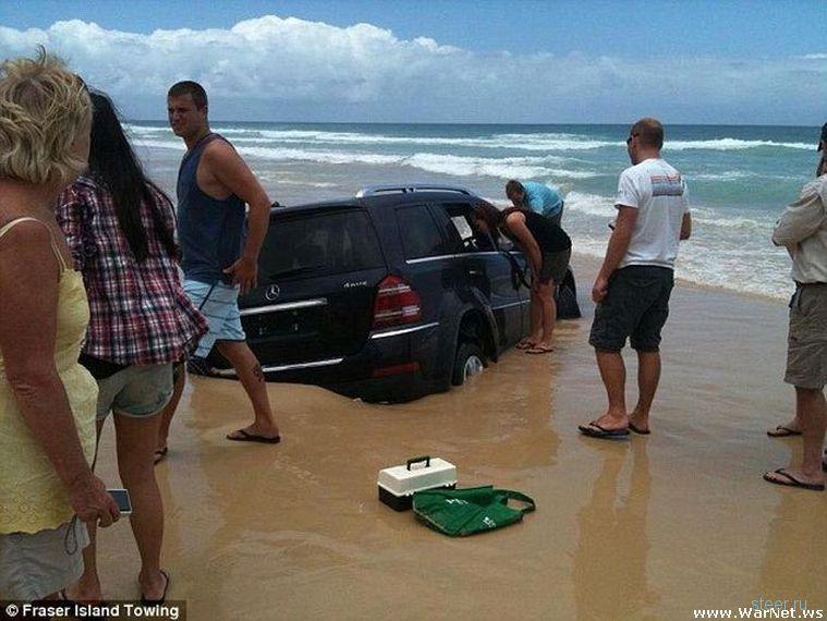 Особенности прибрежной парковки