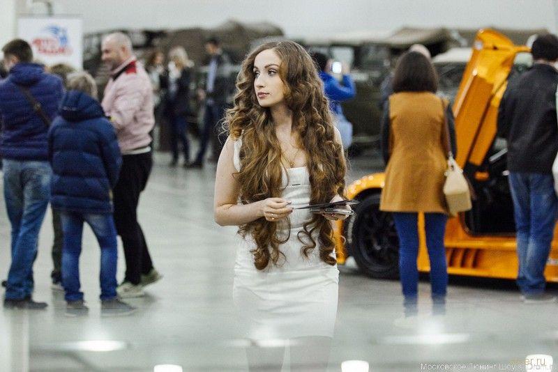 Девушки Московского Тюнинг Шоу 2015