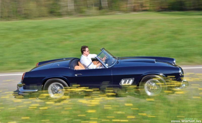 Уникальный ретро-суперкар Ferrari 250GT California Spider с заоблачным ценником