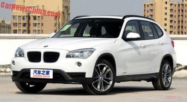 Первые фото нового BMW X1 без камуфляжа