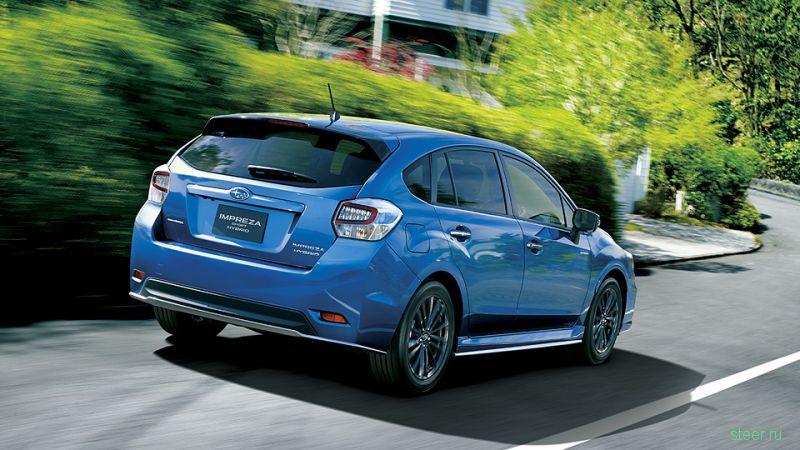 Представлена гибридная Subaru Impreza – Sport Hybrid