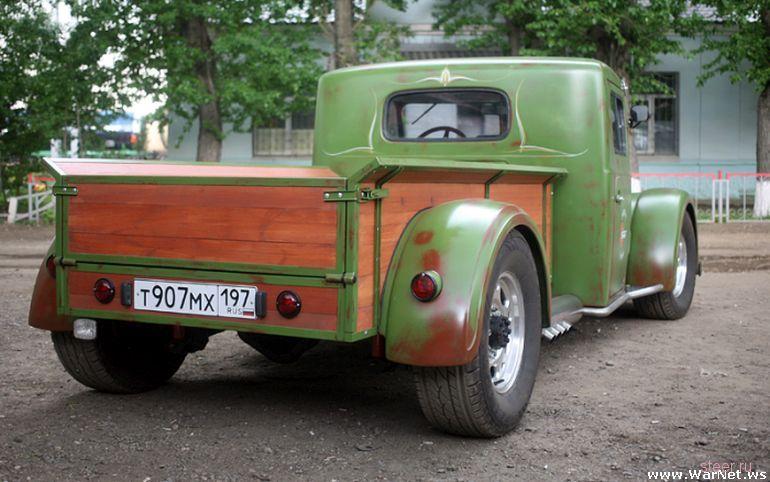 Уникальный хот-род Mazzy на базе старого грузовика МАЗ