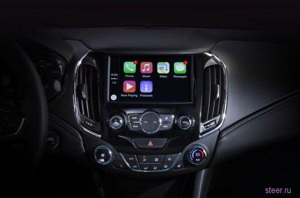 Chevrolet показала первые фото салона нового Cruze