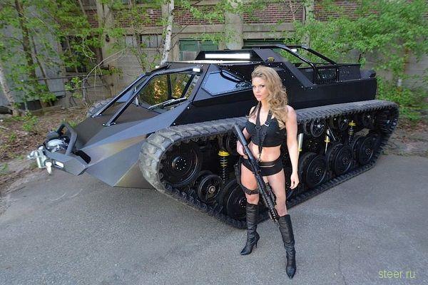 Ripsaw EV2 : 600-сильный «роскошный супертанк» за 100 000 долларов