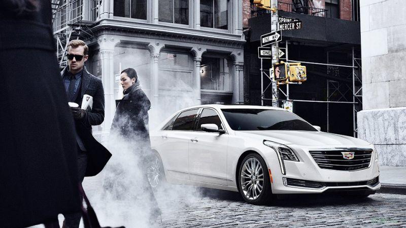 Продажи флагманского седана Cadillac CT6 в России начнутся в  2016 году