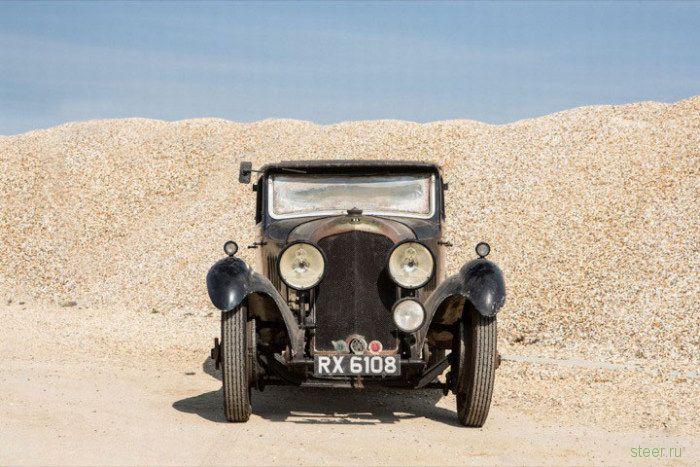 Британец нашел забытый Bentley 4½, который оценили в 450 000 долларов