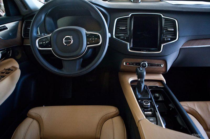 Внедорожник Volvo ХС90 официально представлен в России: комплектации и цены