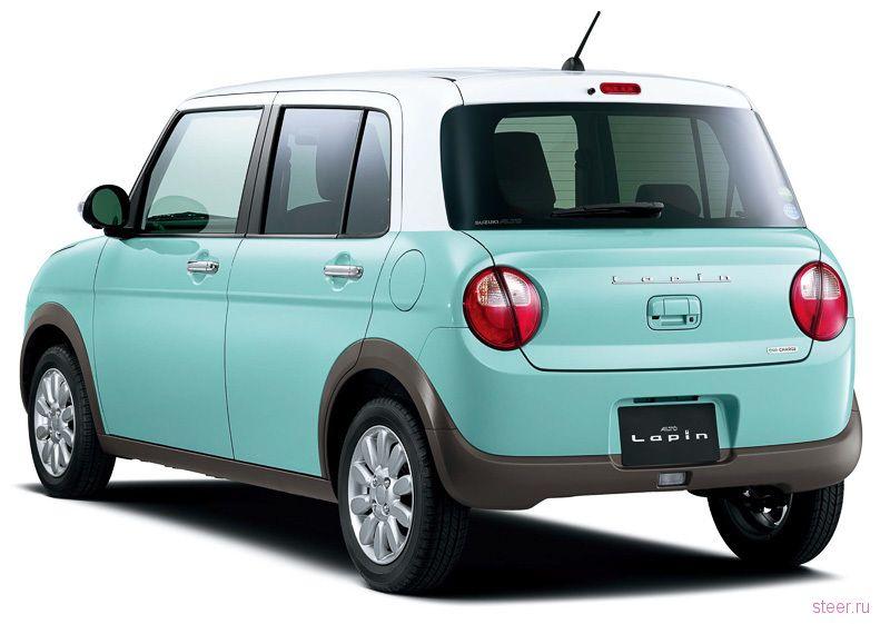 Новый Suzuki Alto Lapin — автомобиль для женщин
