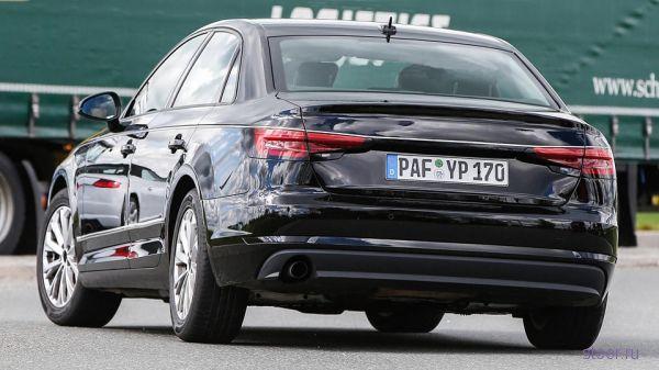 Первые фото нового серийного Audi A4