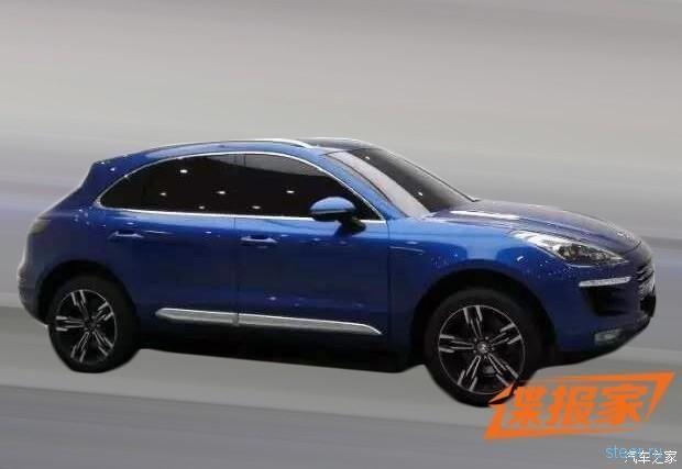 Китайская компания Zotye выпускает клона Porsche Macan