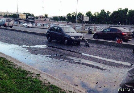 Мотоциклистке оторвало голову в результате ДТП
