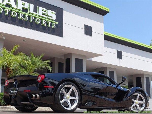Редчайший черный Ferrari LaFerrari выставлен на продажу за 5 млн долларов