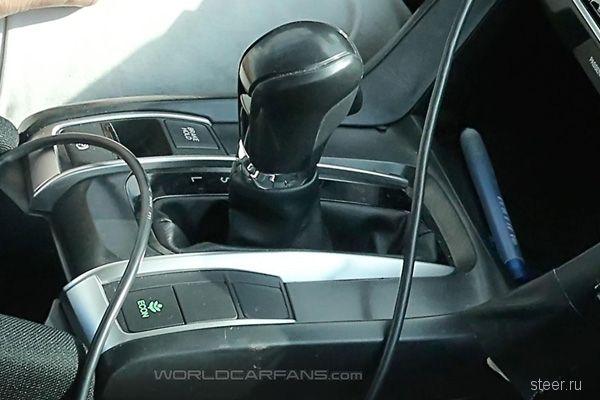 Первые фото салона нового Honda Civic