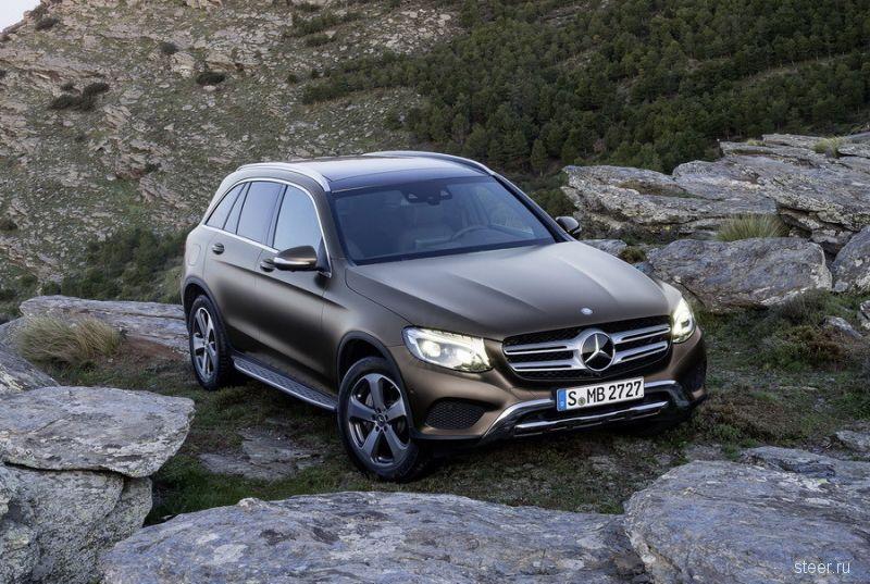 Мерседес официально представил кроссовер Mercedes-Benz GLC