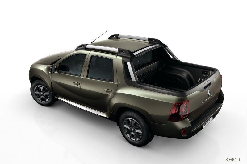 Renault показала пикап Duster Oroch