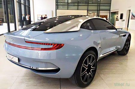 Опубликованы первые снимки кроссовера Aston Martin DBX