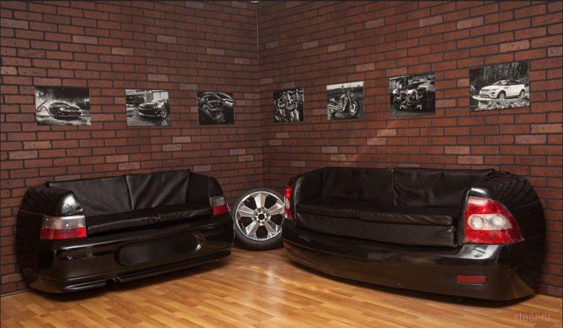 Как из ВАЗа сделать диваны