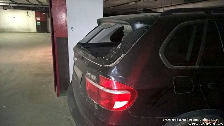Ревнивая девушка по ошибке разбила чужой автомобиль