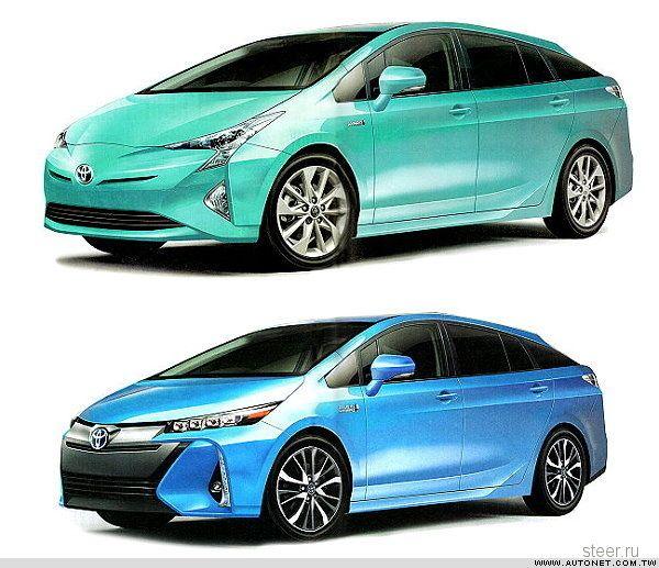 Новые подробности о следующем поколении гибрида Toyota Prius