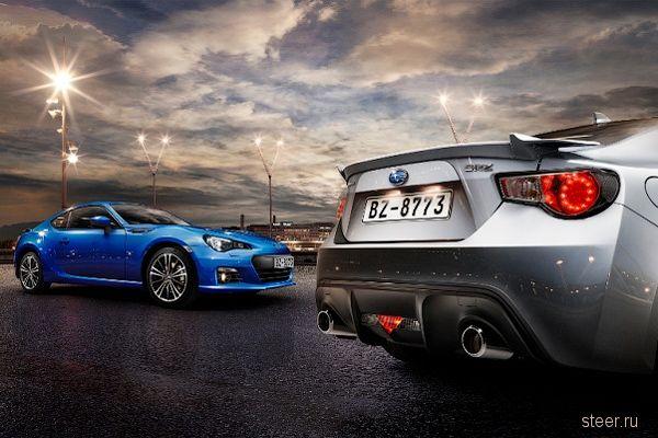 Subaru будет продавать в России купе BRZ с «автоматом»