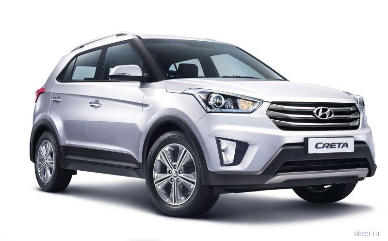 Субкомпактный кроссовер Hyundai Creta официально представлен
