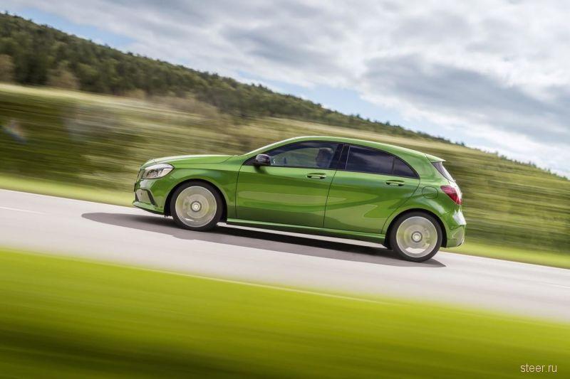 Официально представлен новый Mercedes-Benz A-класса
