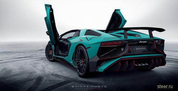 Первые фото нового Lamborghini Aventador LP750-4 Roadster SuperVeloce