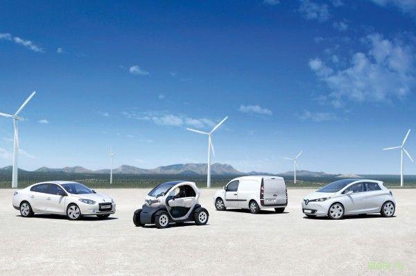 Renault будет прдавать в России коммерческие электрокары Twizy и Kangoo Z.E.