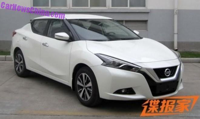 Новый Nissan Lannia : дерзкая внешность, низкая цена