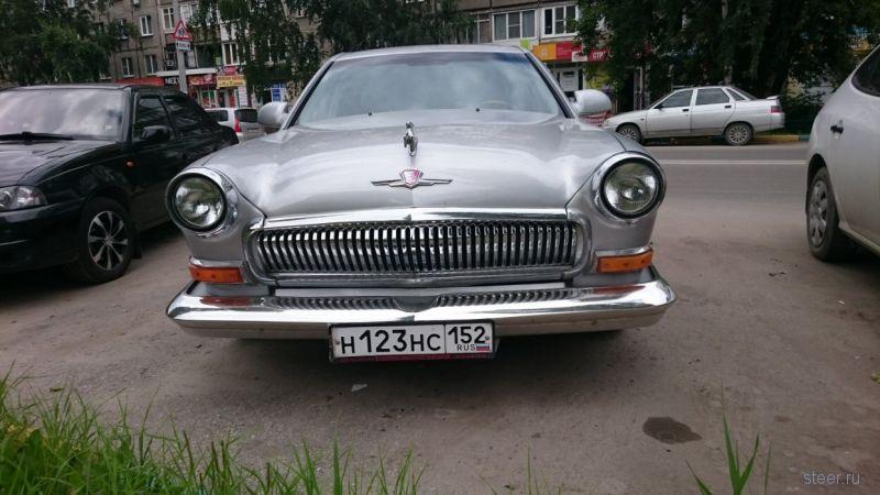 Необычный ГАЗ-21 из Нижнего Новгорода