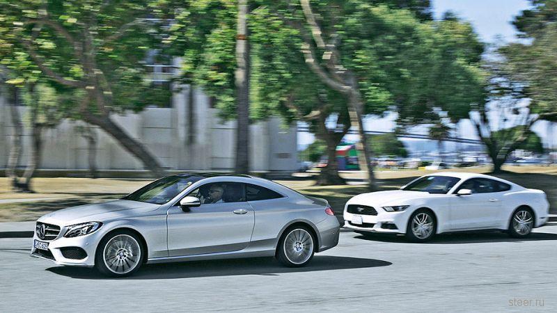 Купе Mercedes-Benz C-Class : первые фото и информация