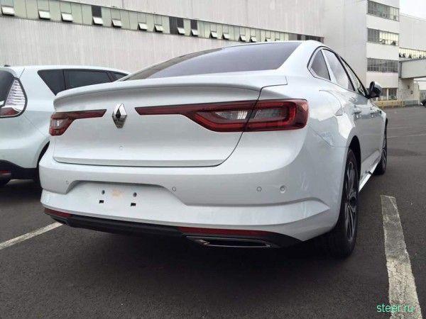 Первые фото нового седана Renault Talisman