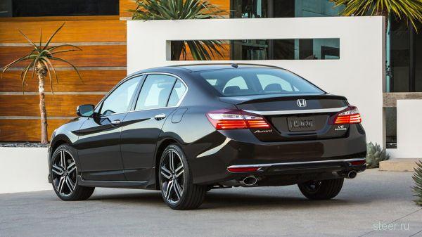 Honda официально представила рестайлинговый «Аккорд»