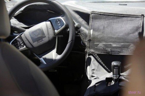 Шпионские фото 2017 Honda Civic : кузов и салон