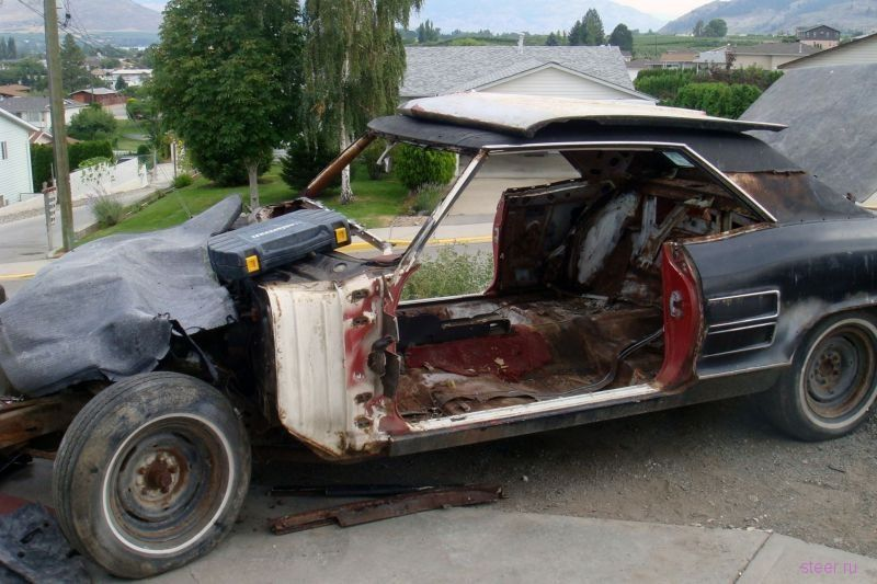 Празднуя покупку BMW, ростовчанин спалил три автомобиля