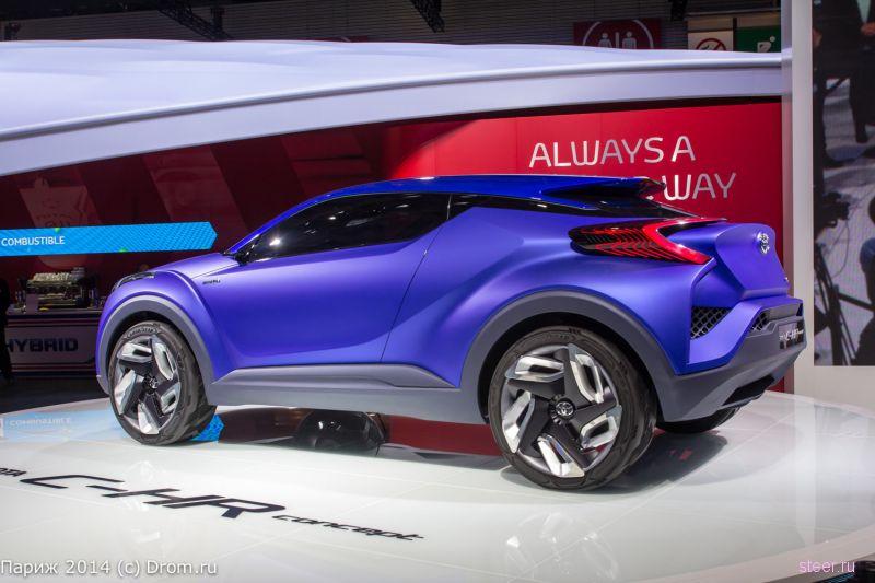 Toyota сделает конкурента для Nissan Qashqai