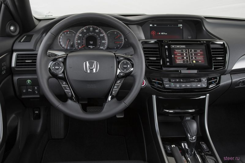 Honda обновила Accord Coupe