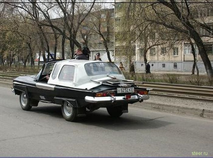 Ласточка - водоплавающий кабриолет новокузнецкого ветерана