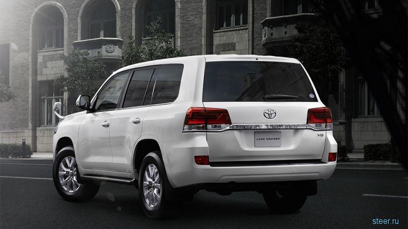 Toyota представила обновленный Land Cruiser 200