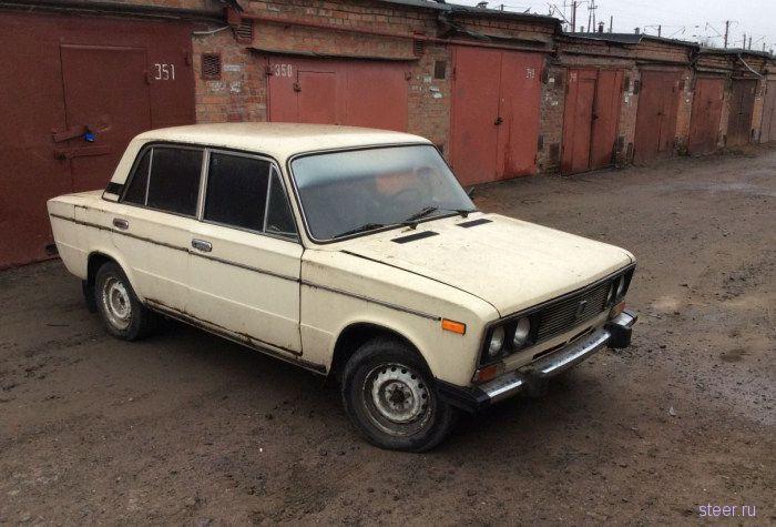 Житель Таганрога превратил ВАЗ-2106 в самодельный танк