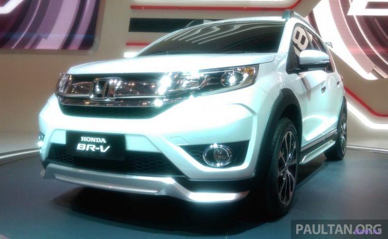 Хонда официально представила семиместный кроссовер Honda BR-V