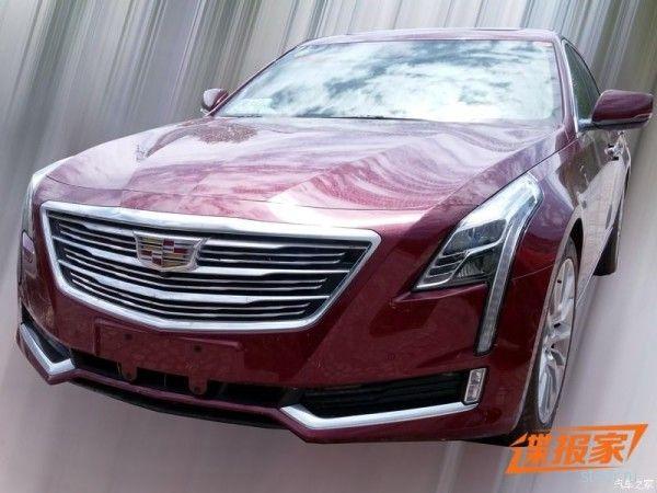 Первые фото предсерийного Cadillac CT6