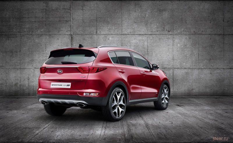 Kia официально представила кроссовер Sportage четвертого поколения