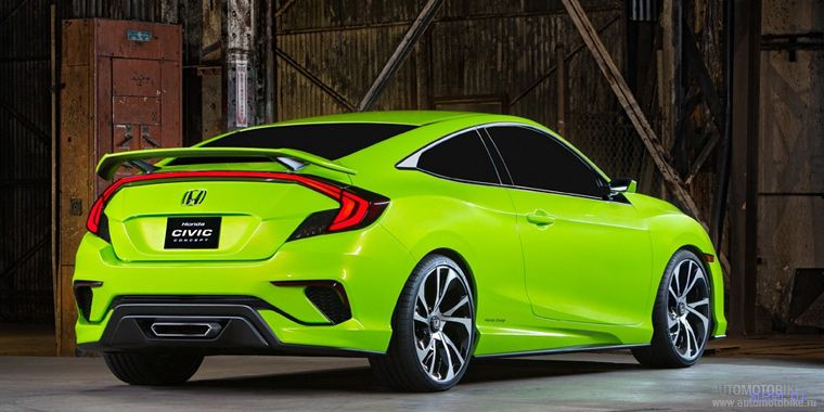 Новый Honda Civic появится в конце 2015 года